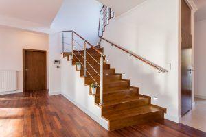 Wooden schody
