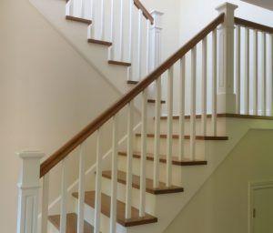 schody klasyczne na betonie