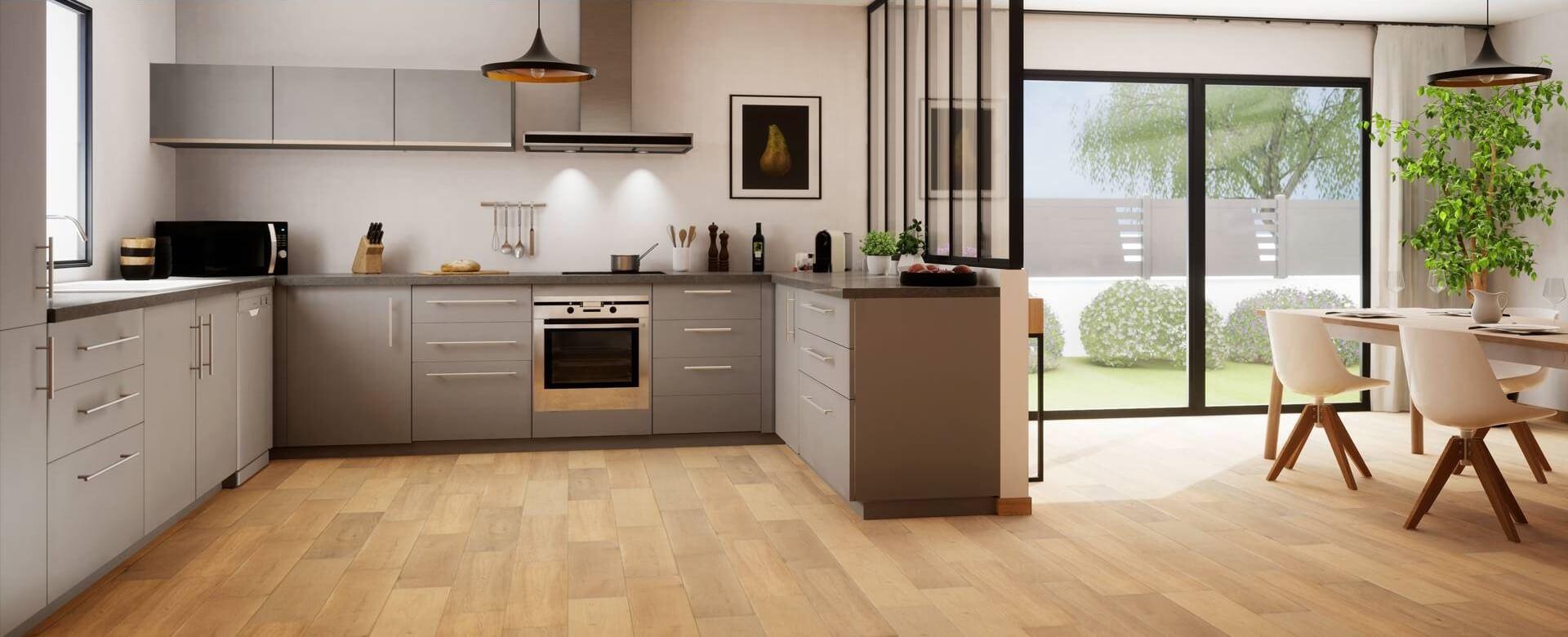 Wood Fashion podłogi do kuchni i jadalni